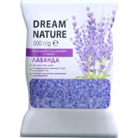 Соль с пеной для ванн Dream Nature Лаванда, 500 г