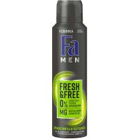 Дезодорант-антиперспирант мужской спрей Fa (Фа) Men Fresh&Free Мята и бергамот, 150 мл