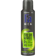 Дезодорант мужской спрей Fa (Фа) Men Fresh&Free Мята и бергамот, 150 мл