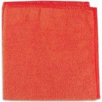 Салфетка из микрофибры (без упаковки), цвет коралл, 220г/м2, 30х30 см