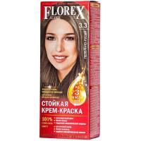 Краска крем для волос Florex (Флорекс) Пепельно-русый
