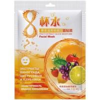Тканевая маска для лица 8Cupwater с фруктовым экстрактом, 30 г