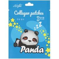Патчи-маски коллагеновые вокруг глаз Panda Zzz Night, 8 г