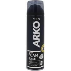 Пена для бритья Arko (Арко) Black, 200 мл