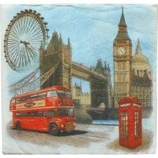 Салфетки сервировочные Fresco (Фреско) Лондон, 33х33 см, 20 шт