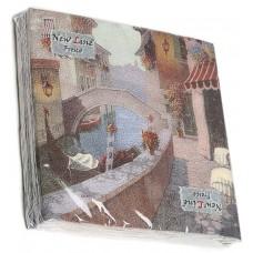 Салфетки сервировочные Fresco (Фреско) Итальянская улочка, 33х33 см, 20 шт