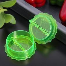 Измельчитель пластиковый для чеснока «Хранитель», цвета микс, 8х4 см