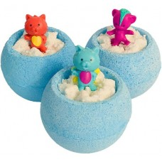 Бурлящие шарики для ванны Bomb Master Веселые зверята, цвет синий, 130 г