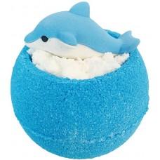 Бурлящие шарики для ванны Bomb Master Дельфин, цвет синий, 135 г