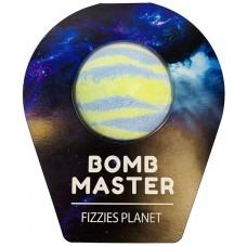 Бурлящие шарики для ванны Bomb Master Бурлящие планеты, цвет голубой, 130 г