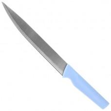 Нож кухонный из нержавеющей стали Новоселье, пластиковая ручка, 100 мм