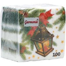 Салфетки сервировочные Гармония Фонарик, 100 шт