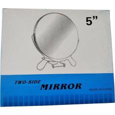 Зеркало железное круглое №5, 2-х стороннее