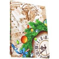 Скатерть рогожка Домашняя мода Щелкунчик, 120х150 см