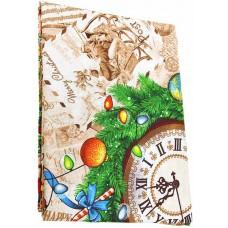 Скатерть рогожка Домашняя мода «Щелкунчик», 120х150 см