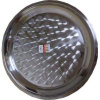 Поднос металлический для посуды, 50 см