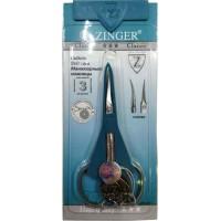 Ножницы маникюрные для кутикулы Zinger (Зингер) с ручной заточкой, матовые, zo B-128-D-SH