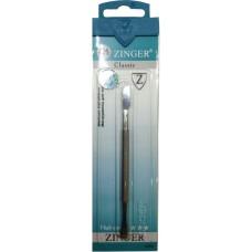 Палочка маникюрная Zinger (Зингер), 2-х сторонняя, лопатка + топорик, с 8-гранной ручкой, zo B-174-S-12-OC