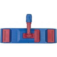 Держатель-флаундер Лайма для плоских Мопов, уши/карманы (Тип У/К), зажимы, черенок типа А и B, 50 см