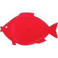 Доска разделочная пластиковая Рыбка, цвета микс, 30х18 см