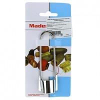 Нож металлический для вырезания сердцевины овощей Гладкий, диаметр лезвия 3 см, длина 11,5 см