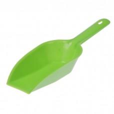 Совок для сыпучих продуктов пластиковый, цвета микс, 9х25х4 см