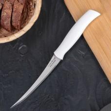 Нож для помидоров и цитрусовых Tramontina, пластмассовая ручка, с зубчиками, 12,5 см