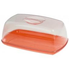 Хлебница пластиковая Апельсин, 24х14х10 см