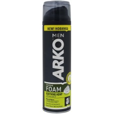 Пена для бритья Arko (Арко) Soothing Hemp, 200 мл