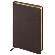 Ежедневник датированный Brauberg (Брауберг) Comodo 2021, А5, кожзам, коричневый, 138x213 мм