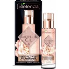 Эксклюзивная омолаживающая сыворотка Bielenda Camellia Oil для лица, шеи, декольте, 30 мл