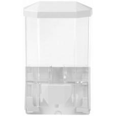 Диспенсер для жидкого мыла пластиковый Laima Professional Original, наливной, прозрачный, 0,5 л