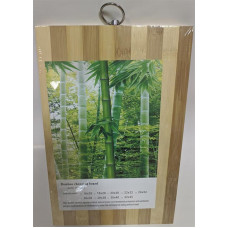 Доска разделочная бамбуковая, 16х26х1,4 см