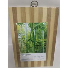 Доска разделочная бамбуковая, 20х30 см