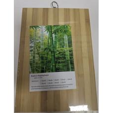 Доска разделочная бамбуковая, 24х34 см