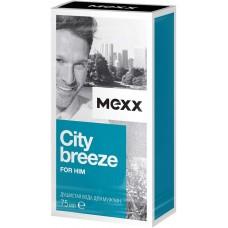 Душистая вода для мужчин Mexx City Breeze, 75 мл