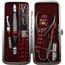 Набор маникюрный Zinger (Зингер), матовый, QS-MSQ-501-SM, 5 предметов
