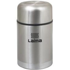 Термос универсальный с широким горлом Лайма, нержавеющая сталь, 0,8 л