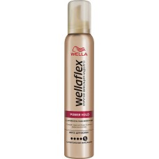 Мусс для укладки волос Wellaflex (Веллафлекс) с антивозрастным эффектом №5, 200 мл