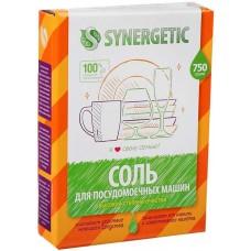 Соль для посудомоечных машин Synergetic, 750 г