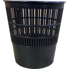 Корзина пластиковая Эконом, цвет черный, 10 л