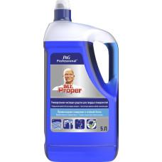 Моющая жидкость для полов и стен Mr. Proper (Мистер Пропер) Professional Океан, 5 л