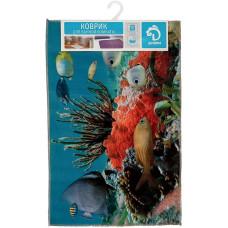 Коврик в ванную Доляна «Коралловый риф», 40х60 см