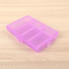 Бокс для хранения, 6 отделений, цвет микс, 12х8,5х2,5 см