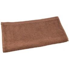 Кухонное полотенце махровое, цвет коричневый, 30х50 см