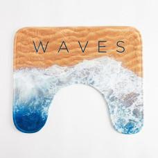 Коврик в ванную Этель «Waves», 50х40 см
