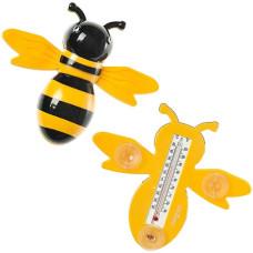 Термометр оконный Пчелка, на присосках, 24х20 см