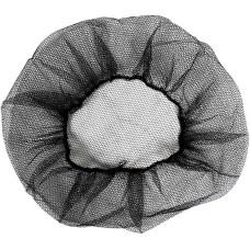 Шапочка одноразовая берет-сетка «Шарлотта», нейлон, цвет черный