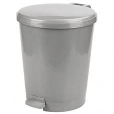 Ведро для мусора пластиковое Эконом, с педалью, д26 см, h4 см, 12 л