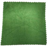 Салфетка из микрофибры (без упаковки) Ultra, цвет зелёный, 25х25 см
